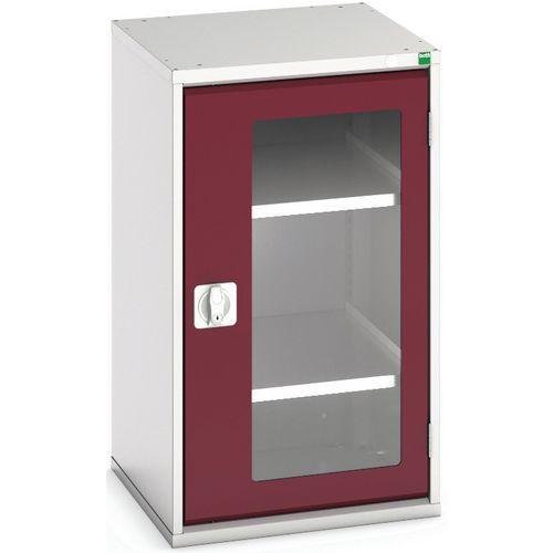 Bott Verso Vision Door Metal Storage Cupboard WxD 525x550mm