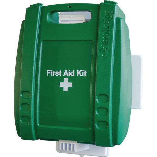 British Standard Compliant Wall Mounted First Aid Kit