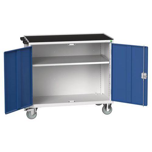 Bott Verso Maintenance Trolley With Cupboard/Shelf