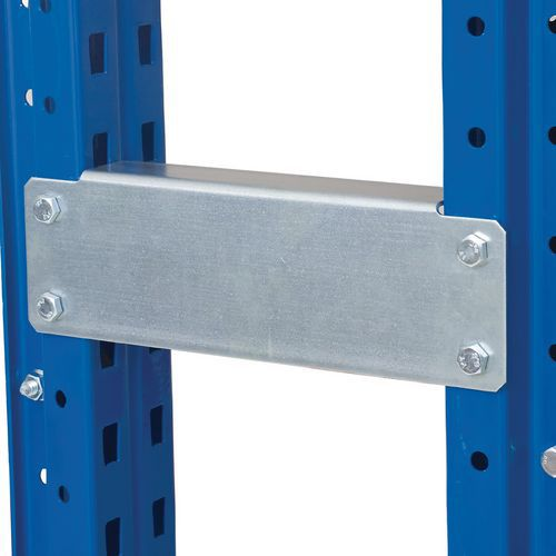 Row Spacer with fixings for Pallet Racking