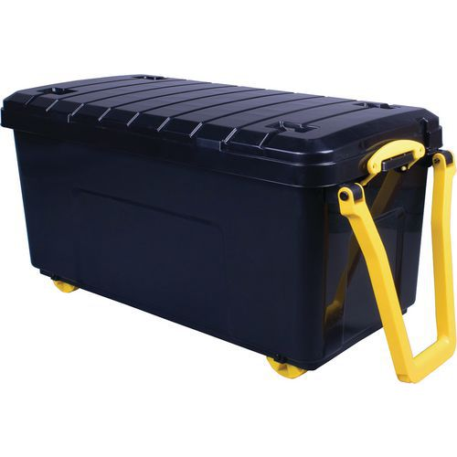 Large Really Useful Storage Box - Wheels And Handle - 160L