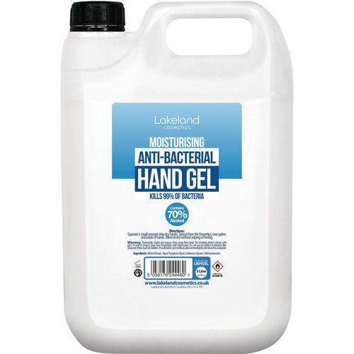 Moisturising Anti-Bacterial Hand Gel 5L