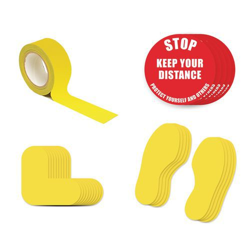 Social Distance Marker Kits