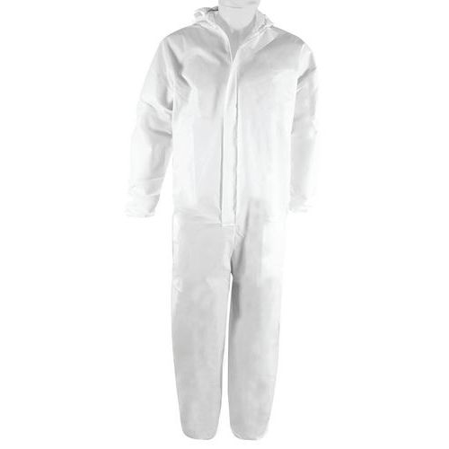 Category 3 disposable protective overalls, type 5/6 - EN14126 certified