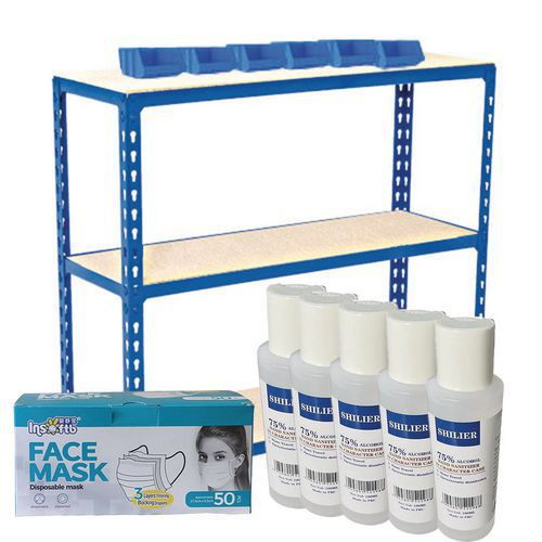 Mini PPE Storage & Display Kits