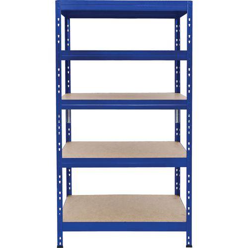 Rapid 3 Pro Shelving 1800h x 900w - 5 Shelves