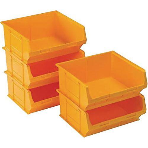 TC6 Storage Stacking Bins - Pack of 5 28.3L Bins - H182xW420xD375mm