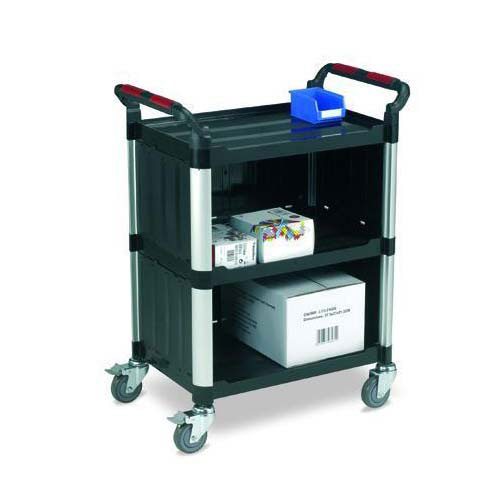 Plastic Utility Trolleys With Sides