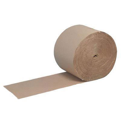 Roll Of Corrugated Paper LxW 75m x 450mm