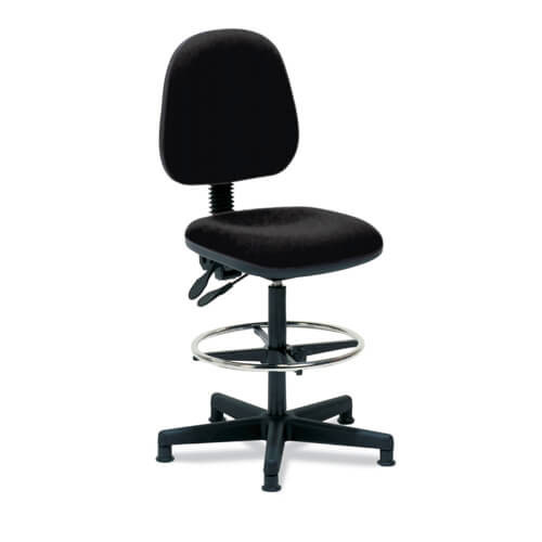 Black Draughtsman Chair