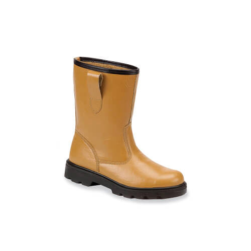 Standard Rigger Boots With Steel Midsole