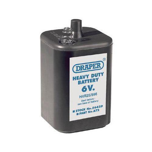 Draper Heavy Duty 6V Battery PJ996