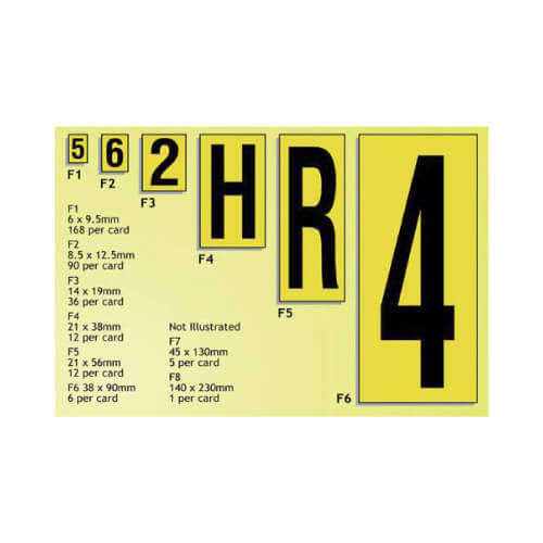 High Visibility Aisle Markers - Small