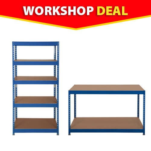 Small Business Starter Kit (4 bays and 1 workbench)