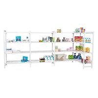 Cambro Shelving (1800hx1000w) 4 ventilated shelves