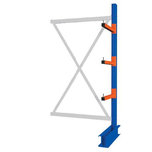 Heavy Duty Double Sided Cantilever Racking - 3000 x 1500 Add-on Bay