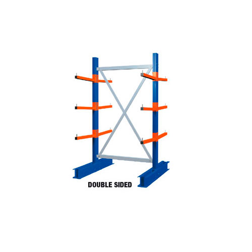 Heavy Duty Double Sided Cantilever Racking - 2000 x 1500 Starter Bay