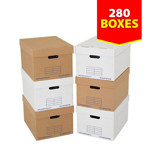 Archive Storage Boxes - Pack of 280