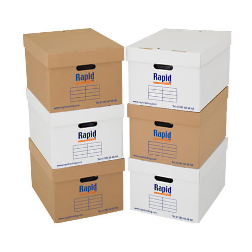 Archive Storage Boxes - Pack of 20