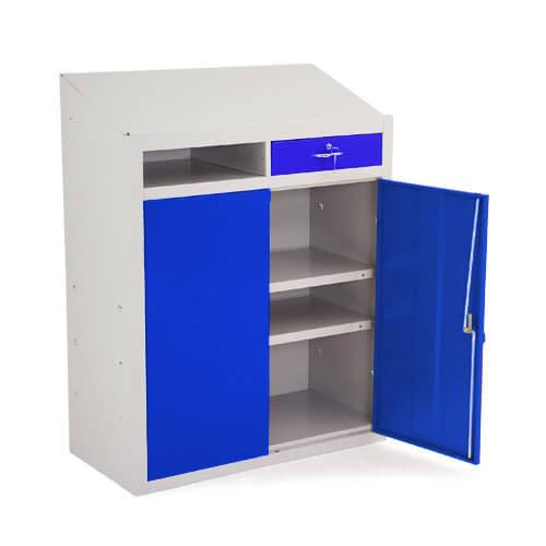 Lockable Steel Workshop Dispatch Desks