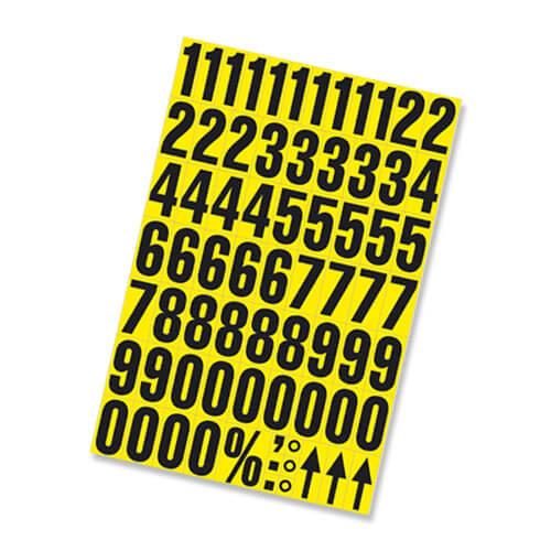 Self Adhesive Numbers Multi-Pack