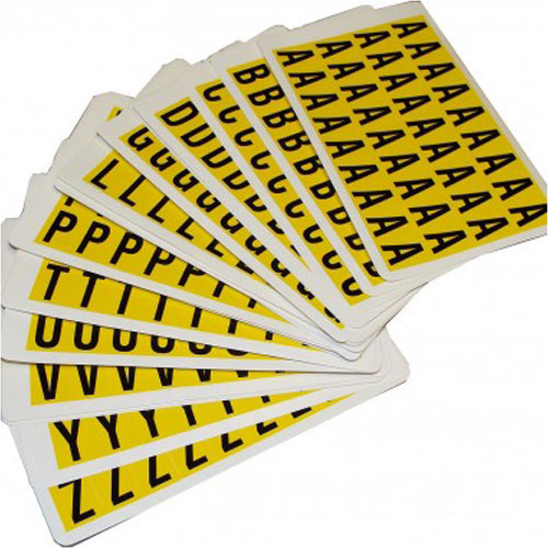 Self Adhesive Letters - 19mm high