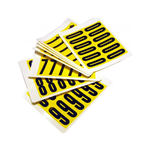 Self Adhesive Numbers - 56mm high