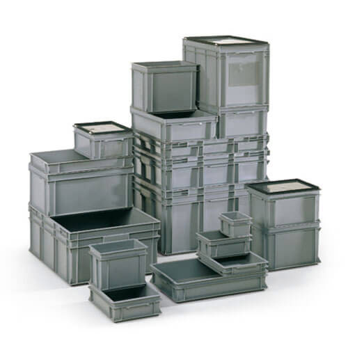 European Stacking Container Lid