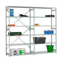 Stormor Mono (1850hx1000w) All steel - 6 shelves