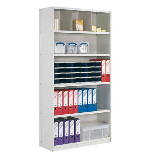 Closed Back Stormor Solo Shelving (2450h x 1250w)