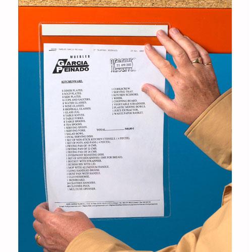 Magnetic Plastic Document Holders