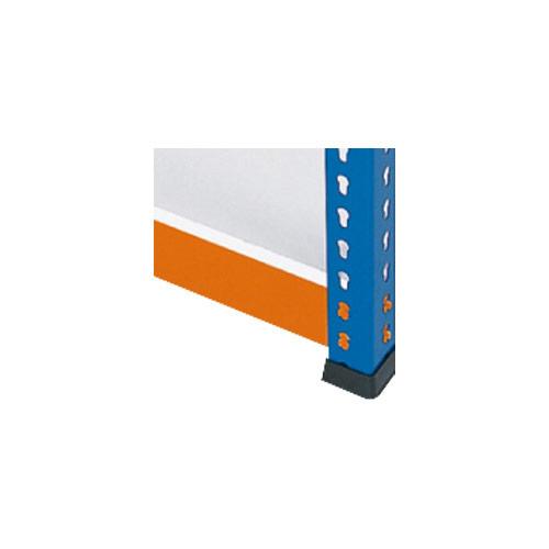 Melamine Extra Shelf for 1220mm wide Rapid 1 Heavy Duty Bays- Orange