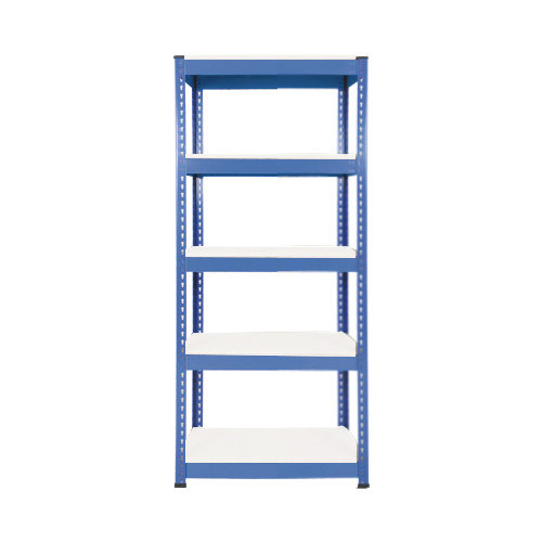 Rapid 1 Shelving (1980h x 915w) Blue - 5 Melamine Shelves