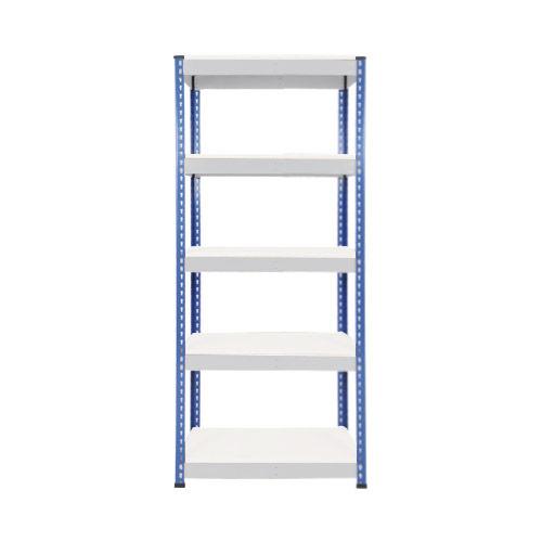 Rapid 1 Shelving (1980h x 915w) Blue & Grey - 5 Melamine Shelves