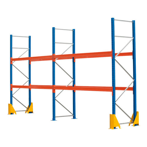 Pallet Racking Kit - Holds 12 Pallets - Sized (H)3000 x (w)5717 x (D)900