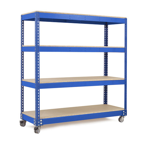 Rapid 1 Trolley (1625h x 1525w) in Blue & Orange