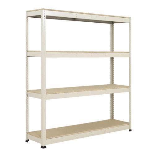 Rapid 1 Heavy Duty Shelving (2440h x 1525w) Grey - 4 Chipboard Shelves