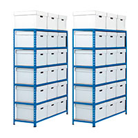 2 Rapid 2 Document Storage Bays including storage boxes