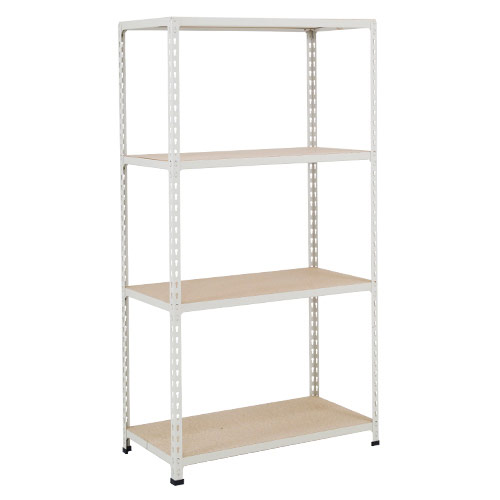 Rapid 2 Shelving (1600h x 1525w) Grey - 4 Chipboard Shelves