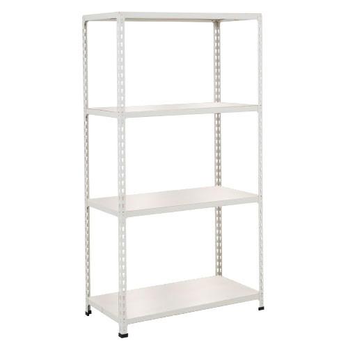 Rapid 2 Shelving (1600h x 1525w) Grey - 5 Melamine Shelves