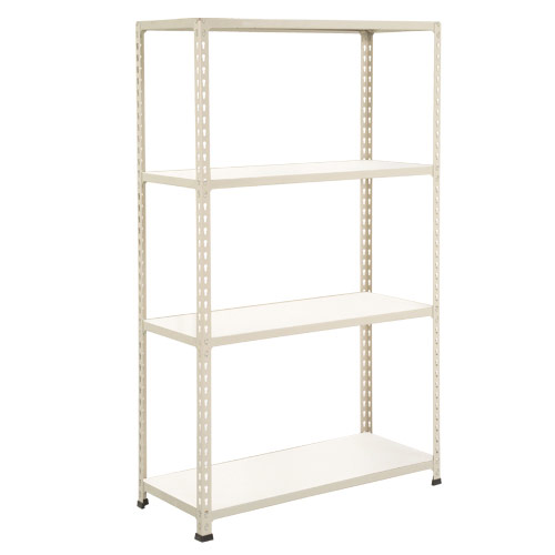 Rapid 2 Shelving (1980h x 915w) Grey - 4 Melamine Shelves