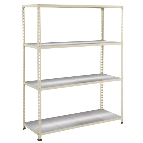 Rapid 2 Shelving (1980h x 1220w) Grey - 4 Galvanized Shelves