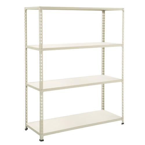 Rapid 2 Shelving (1980h x 1220w) Grey - 4 Melamine Shelves