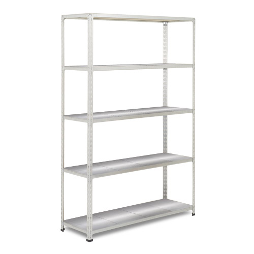 Rapid 2 Shelving (1980h x 1220w) Grey - 5 Galvanized Shelves