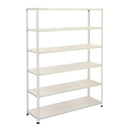 Rapid 2 Shelving (1980h x 1220w) Grey - 6 Melamine Shelves