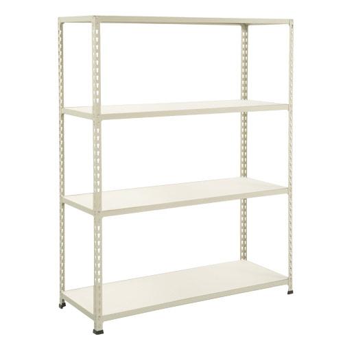 Rapid 2 Shelving (1980h x 1525w) Grey - 4 Melamine Shelves