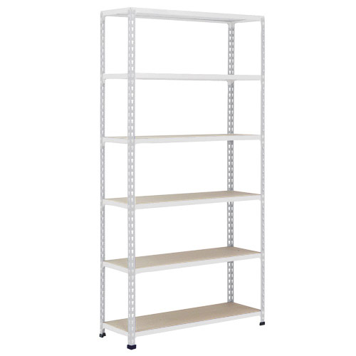 Rapid 2 Shelving (2440h x 915w) Grey - 6 Chipboard Shelves
