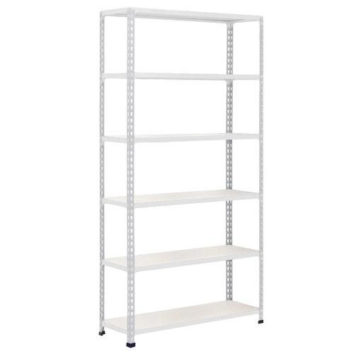 Rapid 2 Shelving (2440h x 915w) Grey - 6 Melamine Shelves