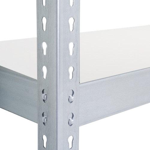 Rapid 2 (915w) Extra Melamine Shelf - Galvanized