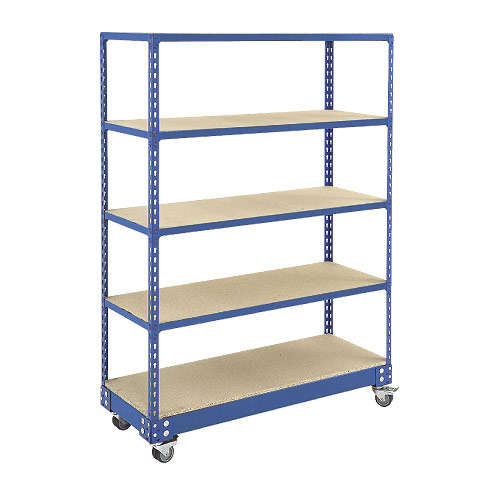 Rapid 2 Trolley (1700h x 1220w) In Blue